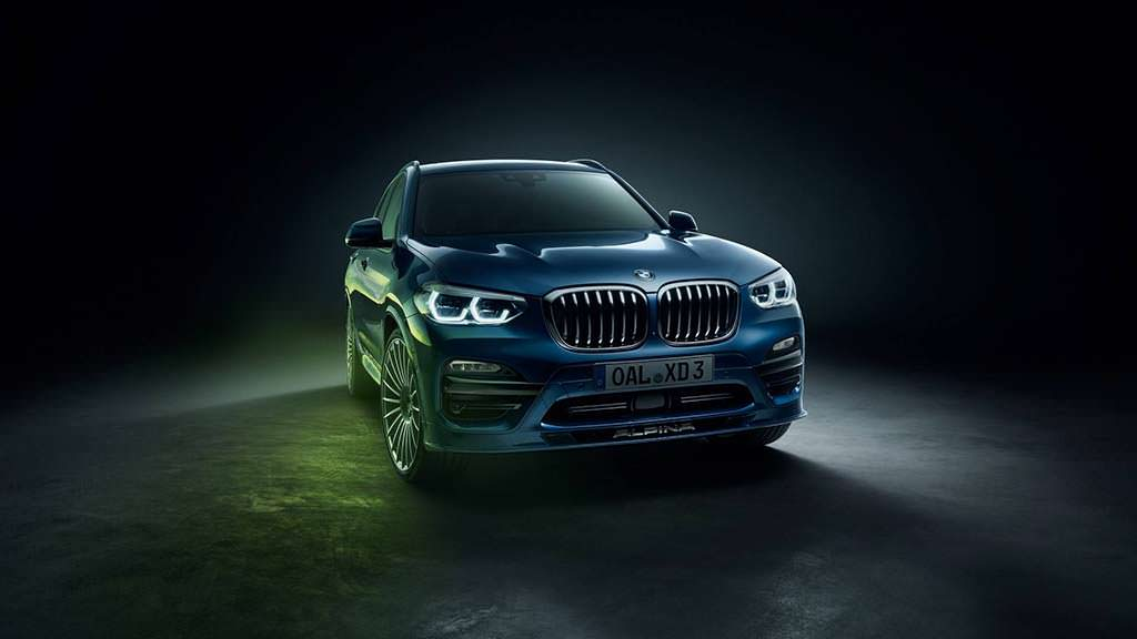 2018 BMW Alpina XD3 - самый быстрый дизельный кроссовер