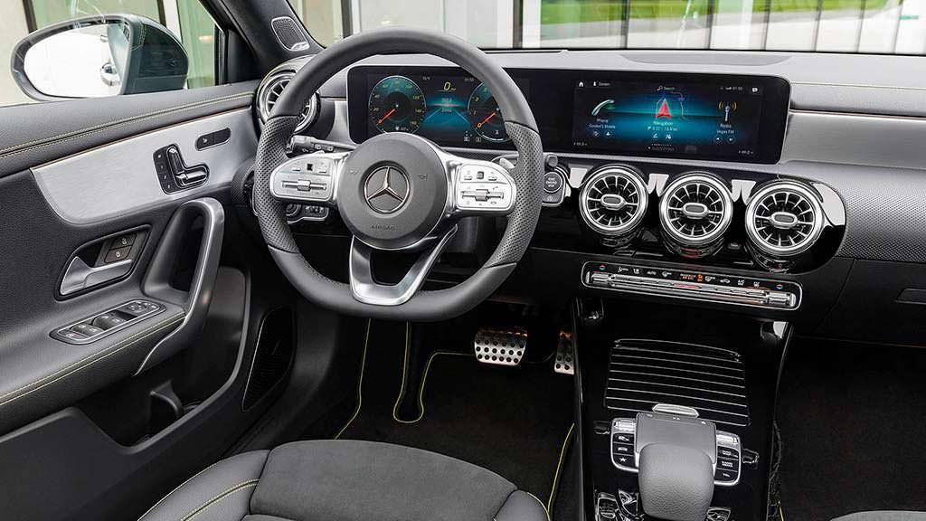 Фото внутри Mercedes-Benz A-Class 2019