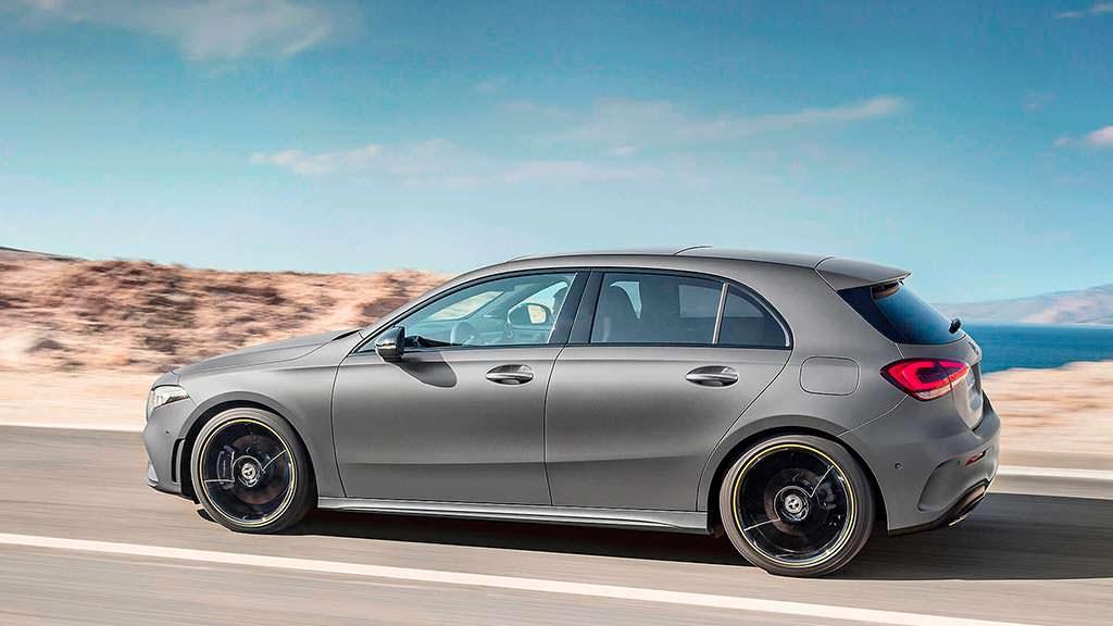 Mercedes-Benz A-Class нового поколения