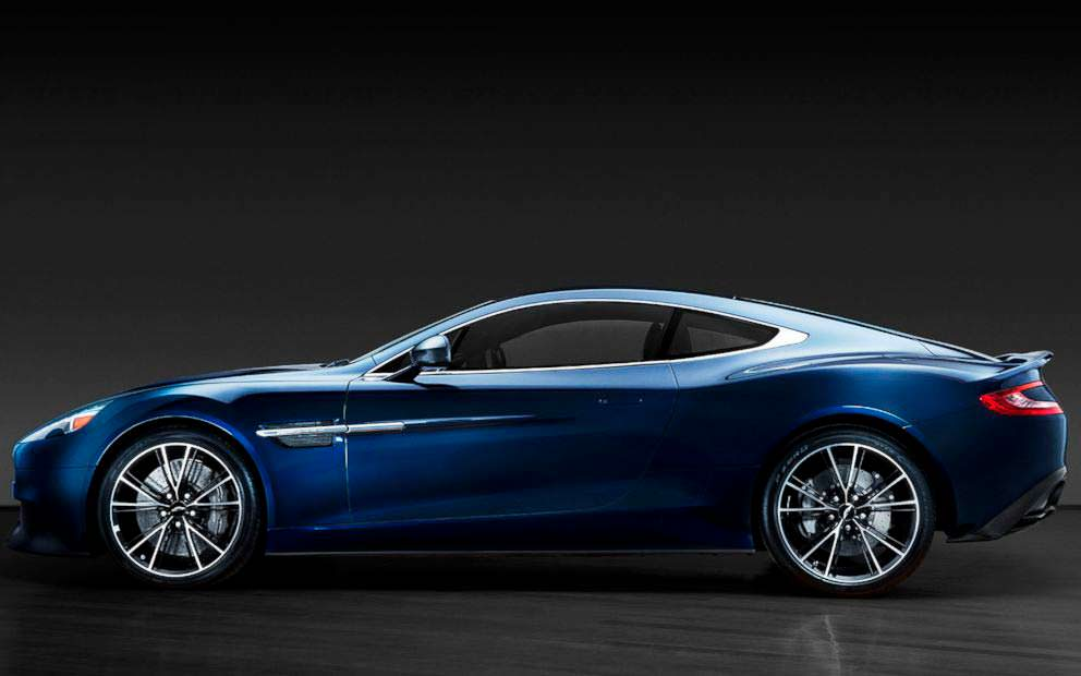 Aston Martin Centenary Edition Vanquish Дэниела Крэйга