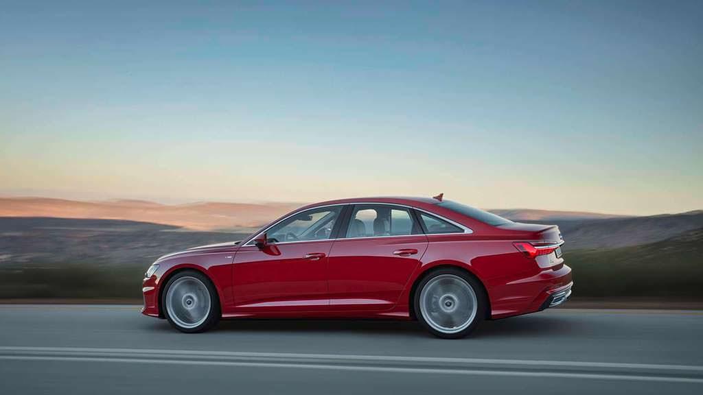 Седан Audi A6 в кузове C8