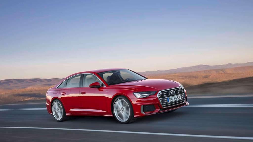 Новая Audi A6 C8