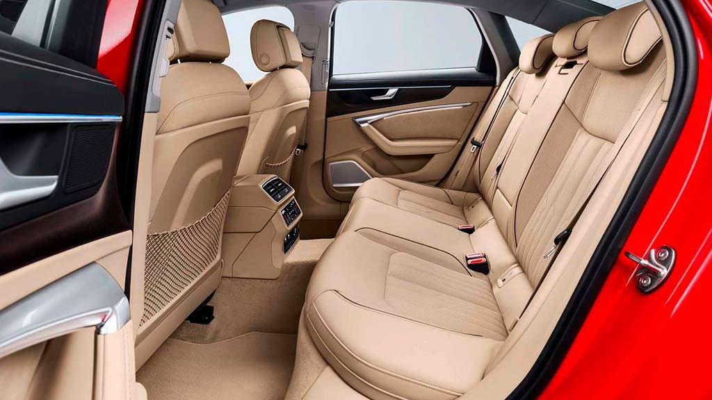 Кожаный салон 2019 Audi A6 C8