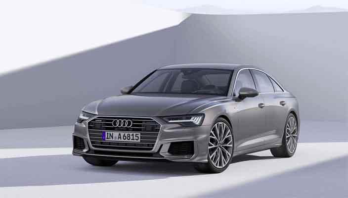 Седан Audi A6 в кузове C8 показали официально | фото и видео