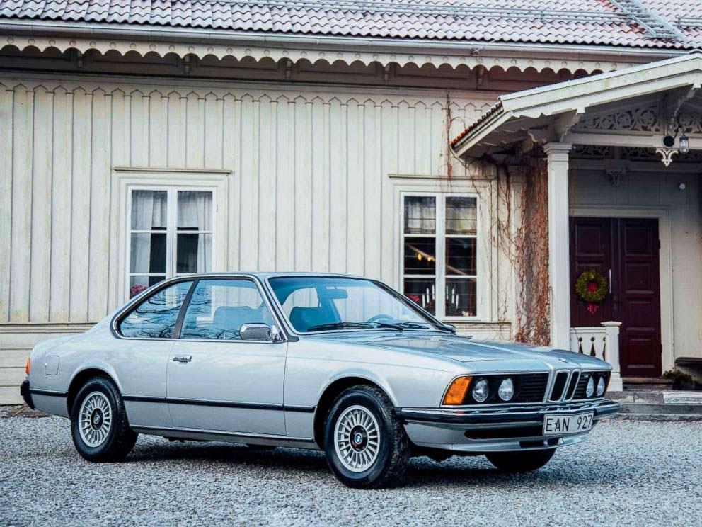 Стильное купе BMW 633 1977 года выпуска группы ABBA