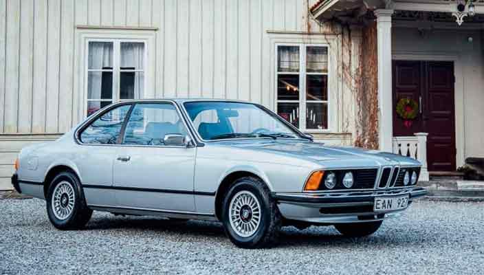 BMW 633 1977 года группы ABBA ушел с молотка | фото и цена