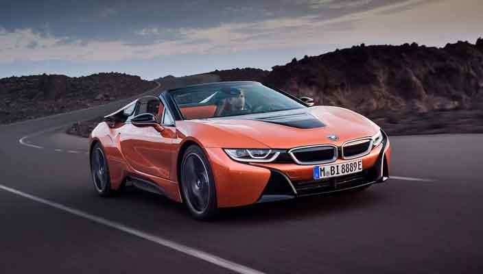 Известна цена BMW i8 Roadster. От $163 300, старт продаж