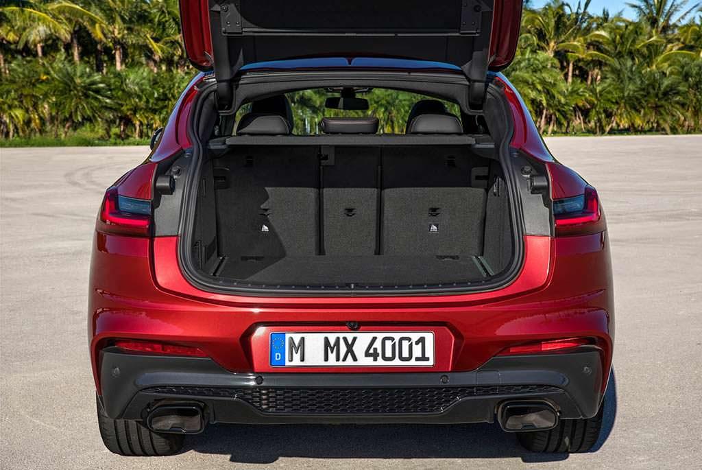 Багажник BMW X4 2019 на 524 литра