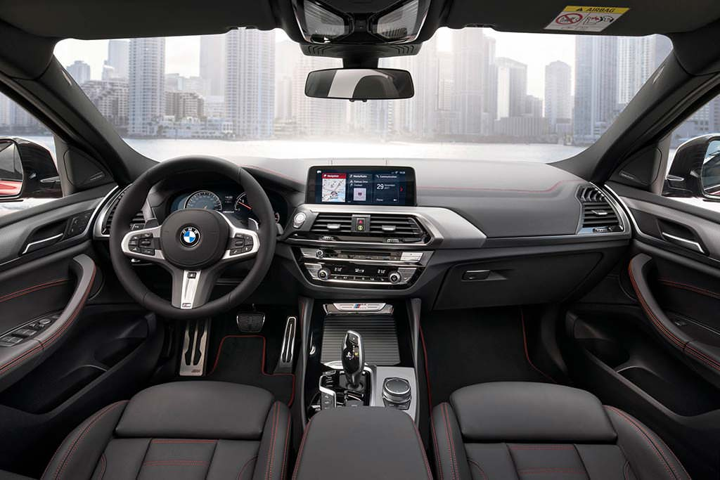 Фото салона BMW X4 2019
