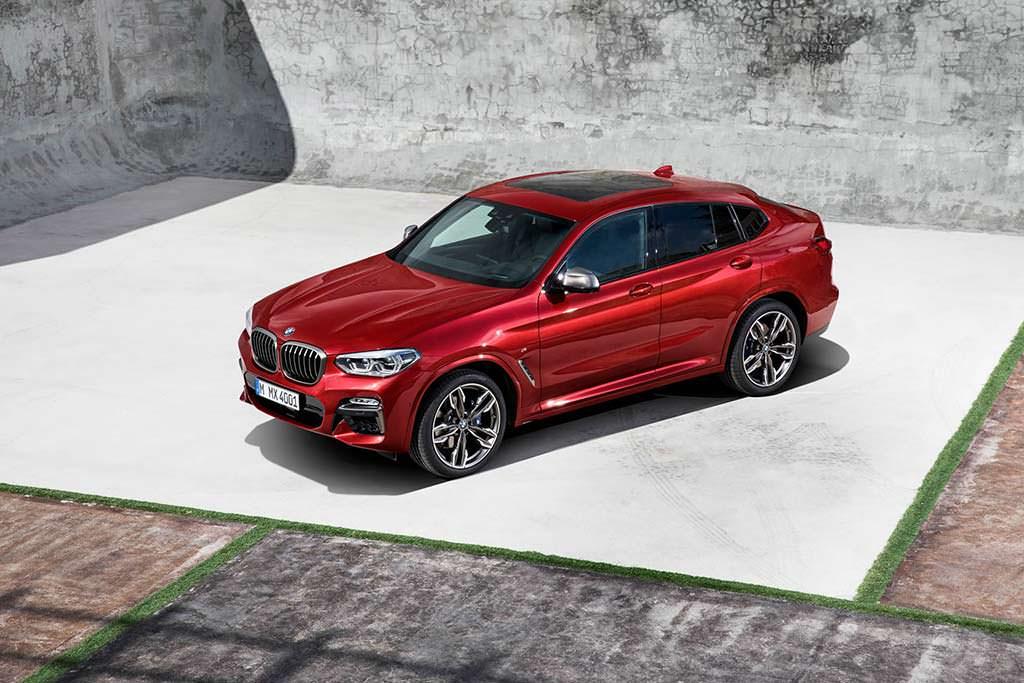 Новый BMW X4 G02