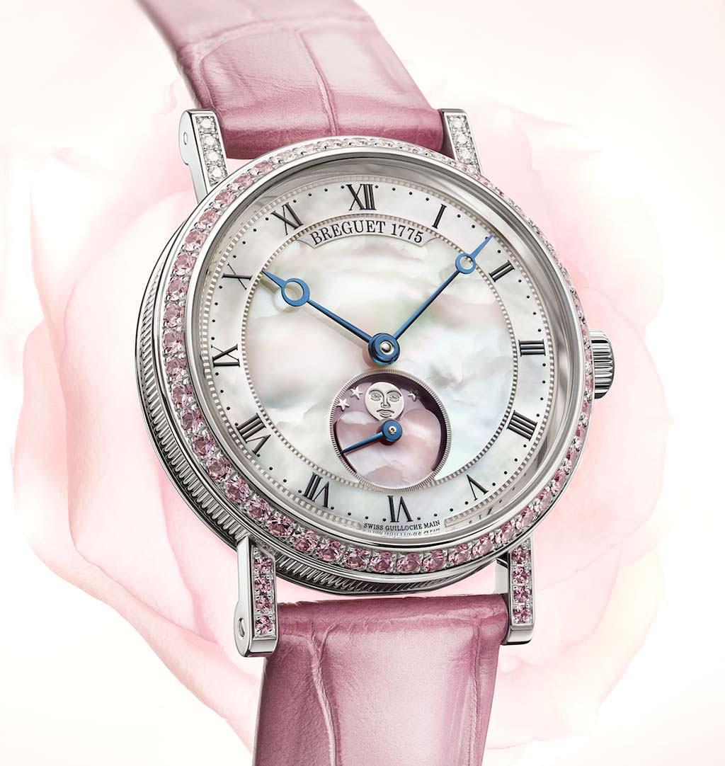 Женские часы Breguet Valentine's Day Classique Phase de Lune Dame
