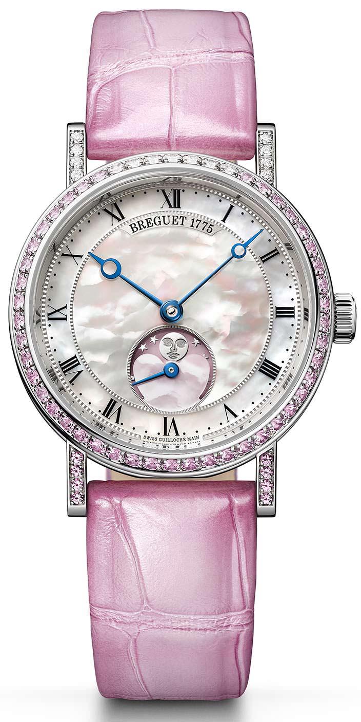 Женские часы ко Дню Св. Валентина Breguet Phase de Lune Dame