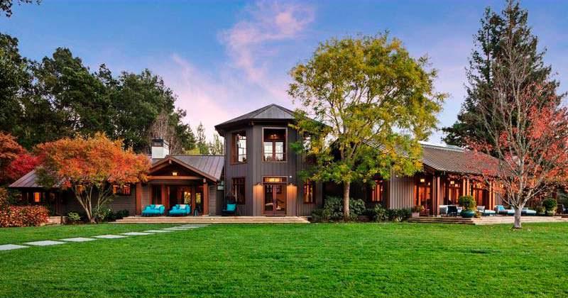 Дом с виноградником в Сан-Франциско