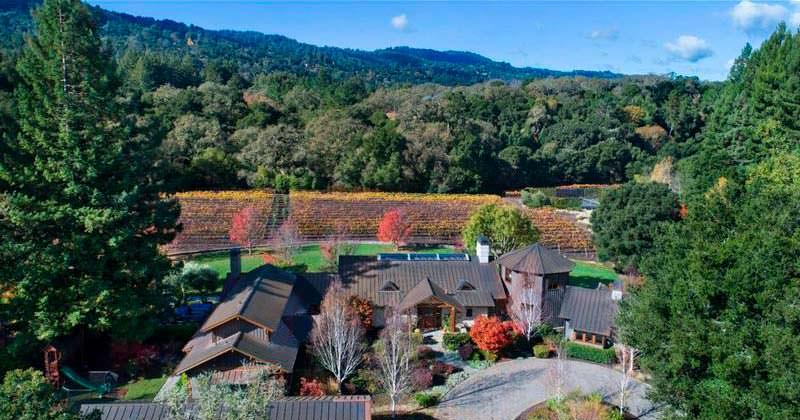 Загородный дом с виноградником Энди Рубина, создателя Android