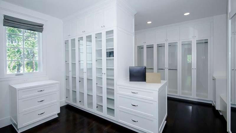 Дизайн гардероба в доме