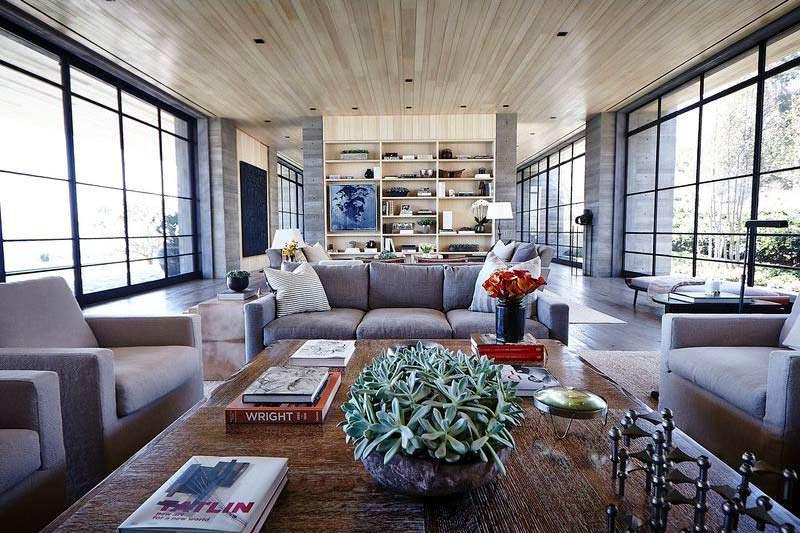 Дизайн интерьера дома миллиардера в Малибу