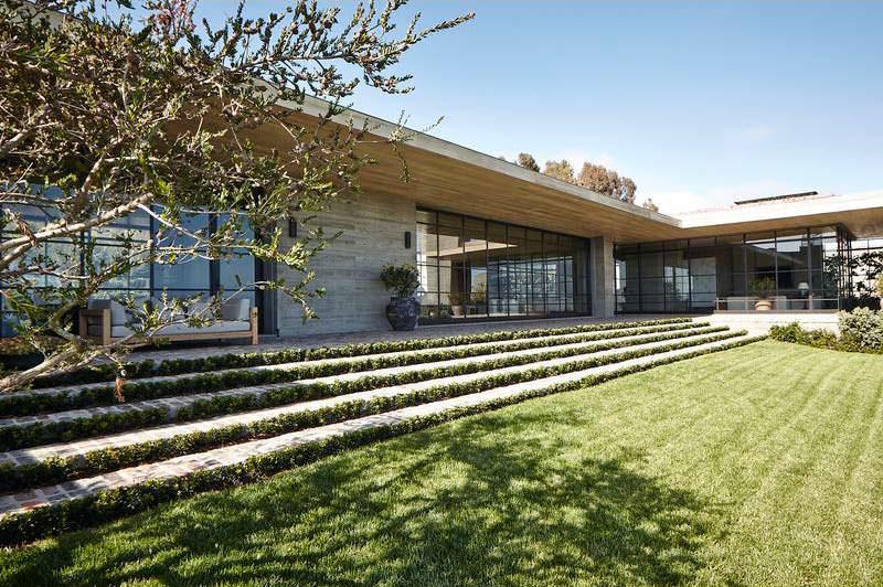 Фото дома миллиардера Дарила Каца в Малибу
