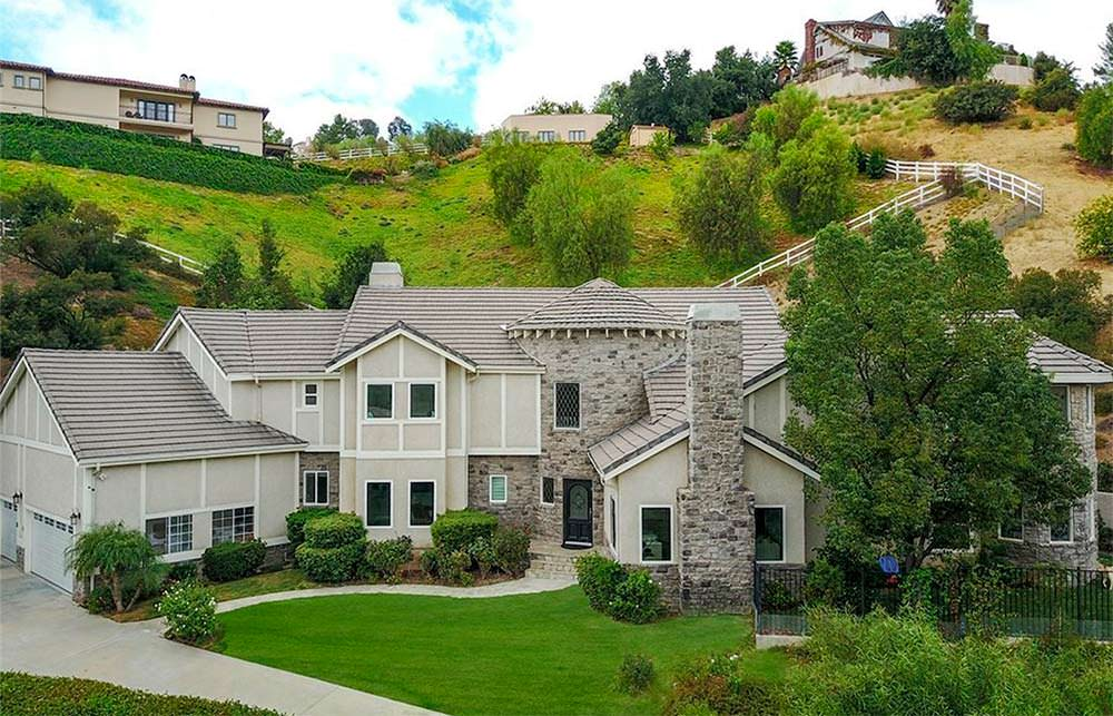 Новый дом Шакила О'Нила в Лос-Анджелесе