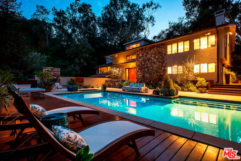 Дом актрисы Тери Хэтчер в Студи Сити, Лос-Анджелес