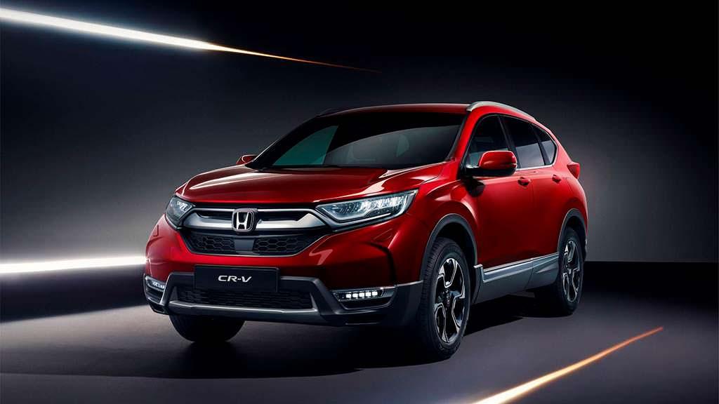 Кроссовер Honda CR-V пятого поколения