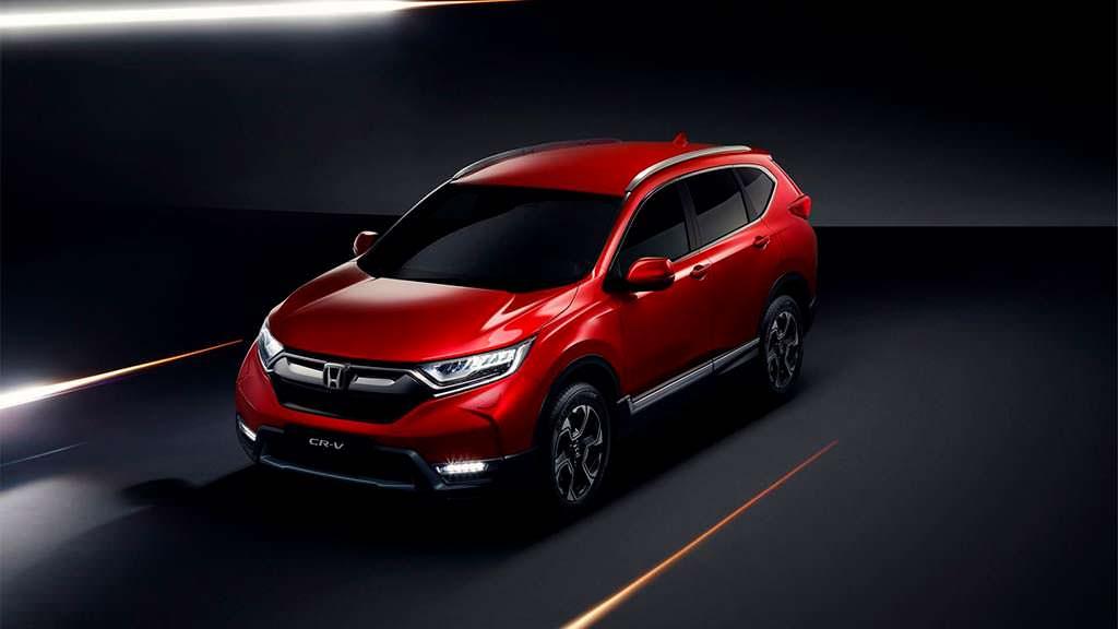 2018 Honda CR-V для рынка Европы