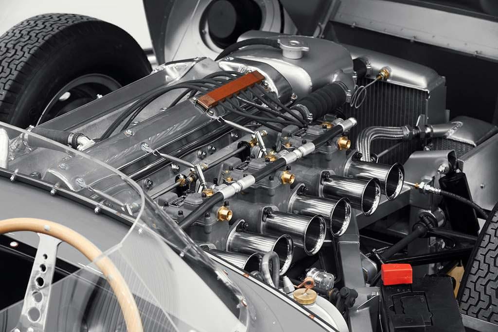 Двигатель V6 на 3,5 литра мощностью 265 л.с. Jaguar D-Type