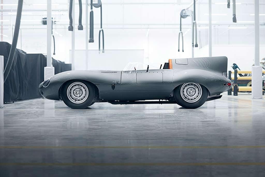 Ретро Jaguar D-Type: выпустят 25 машин