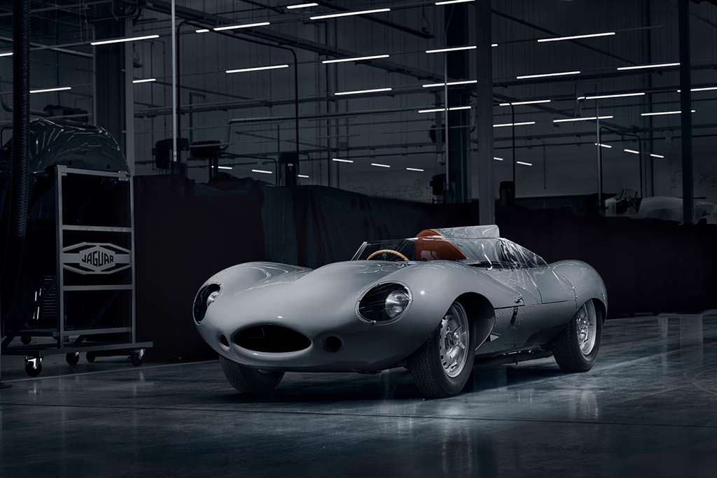 Классический Jaguar D-Type спустя 62 года