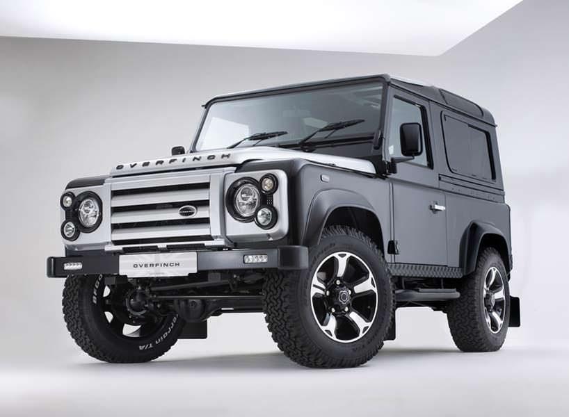 Юбилейный тюнинг Land Rover Defender от Overfinch
