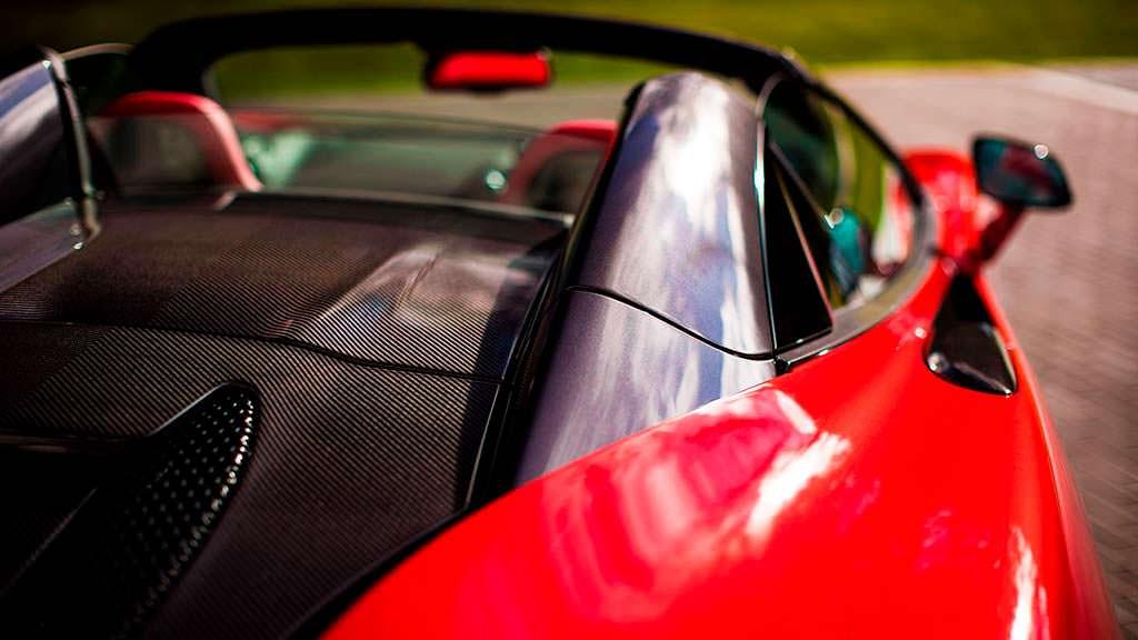 Крышка моторного отсека из карбона McLaren 570S Spider