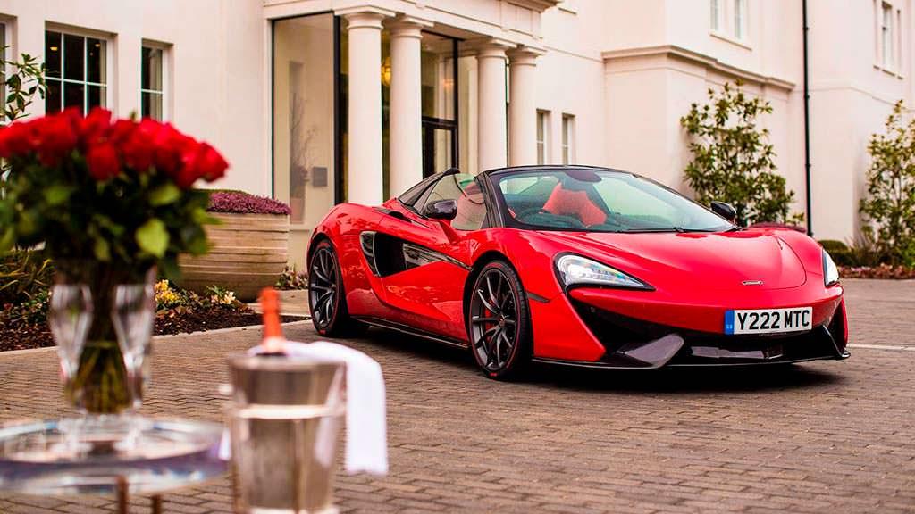 Суперкар McLaren 570S Spider подарок на День Валентина