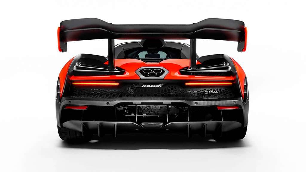 Суперкар McLaren P15 в честь Айртона Сенны
