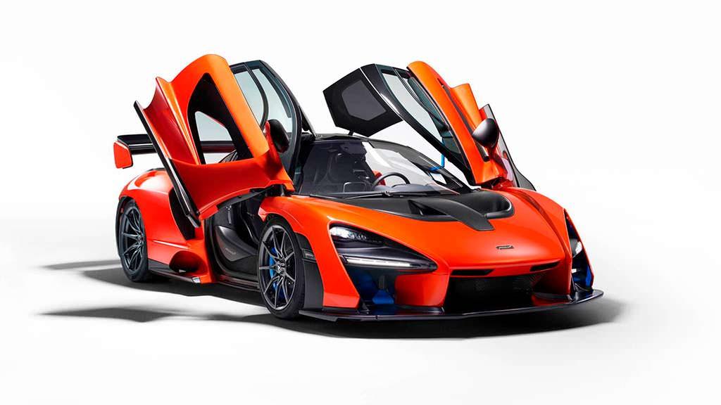 McLaren Senna: максимальная скорость 340 км/ч