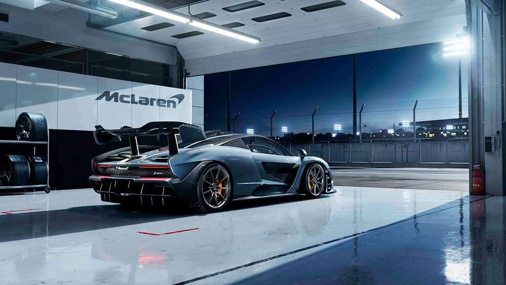 Суперкар McLaren в честь Айртона Сенны