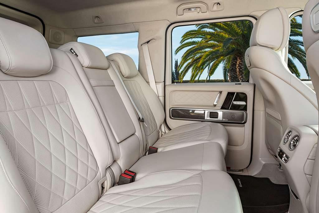 Задние сиденья Mercedes-AMG G63