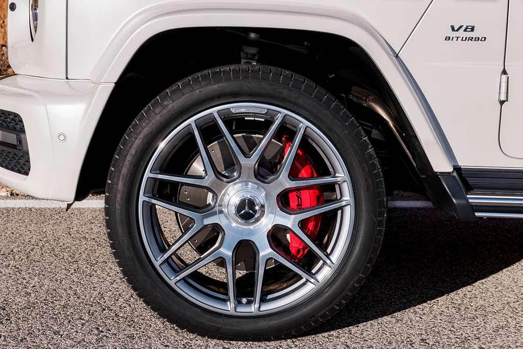 Колесные диски 22-дюйма Mercedes-AMG G63 нового поколения