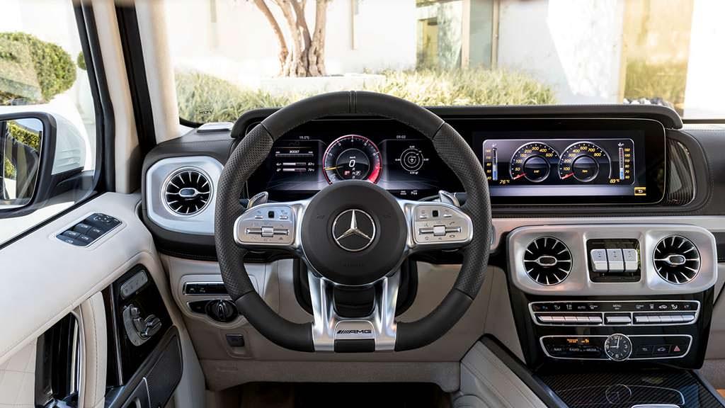 Интерьер Mercedes-AMG G63 2019