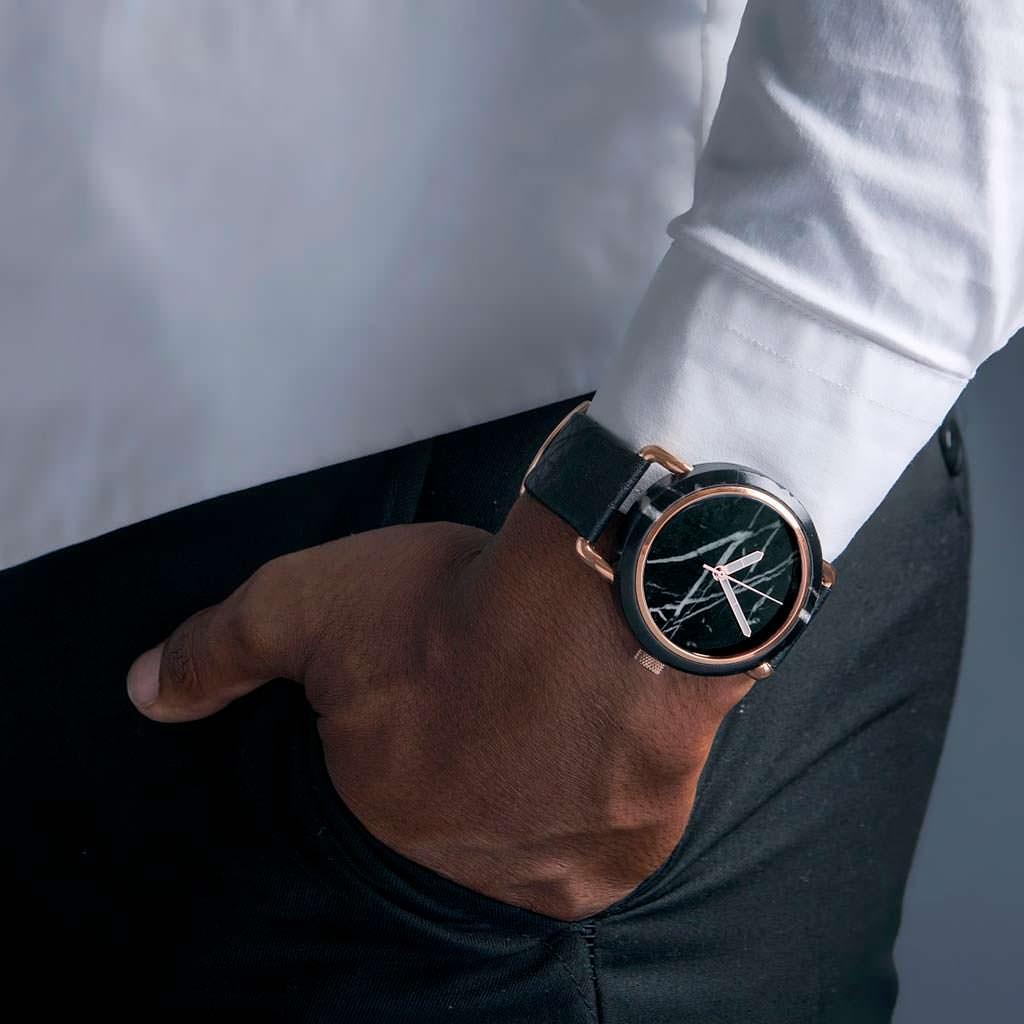 Мраморные наручные часы MRBL за $229