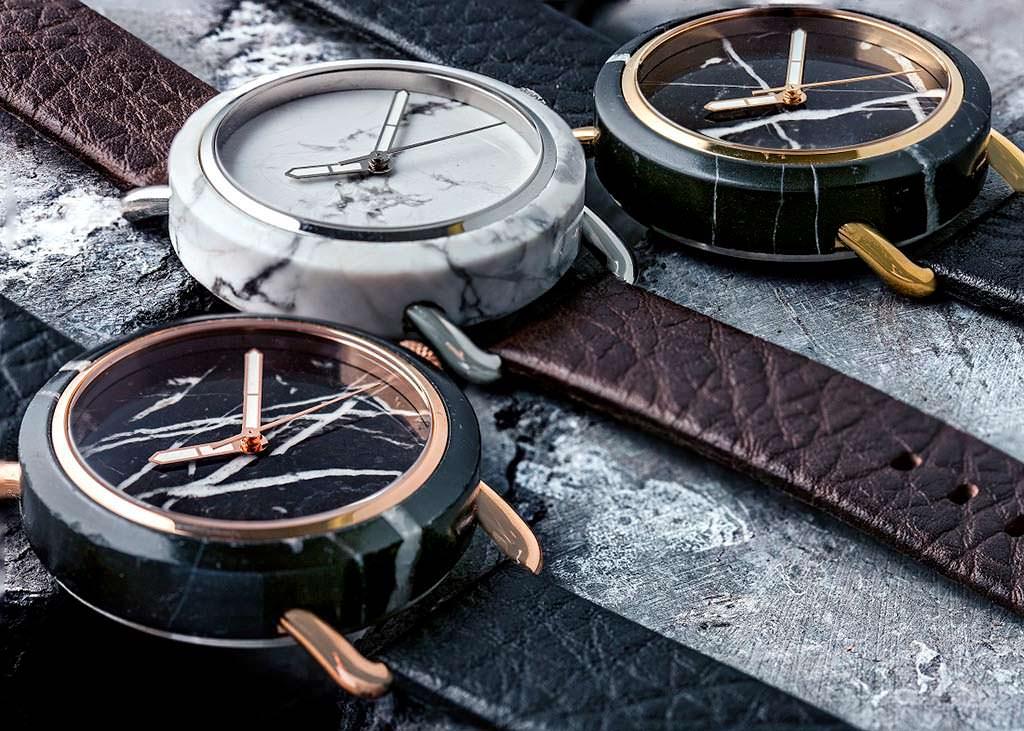 Мраморные наручные часы MRBL