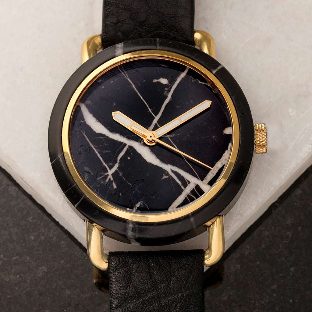 Мраморные часы MRBL