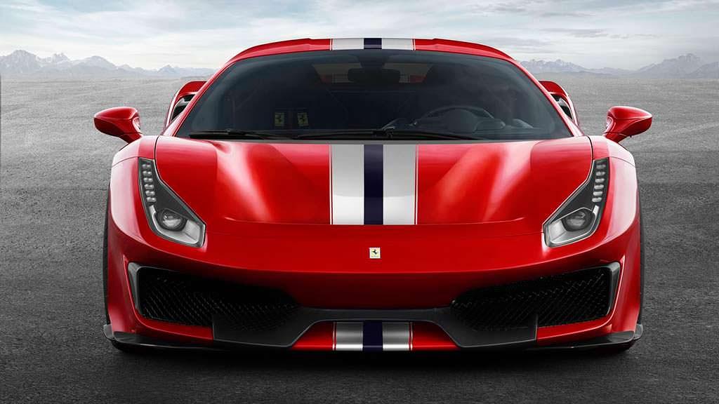 Новый суперкар Ferrari 488 Pista