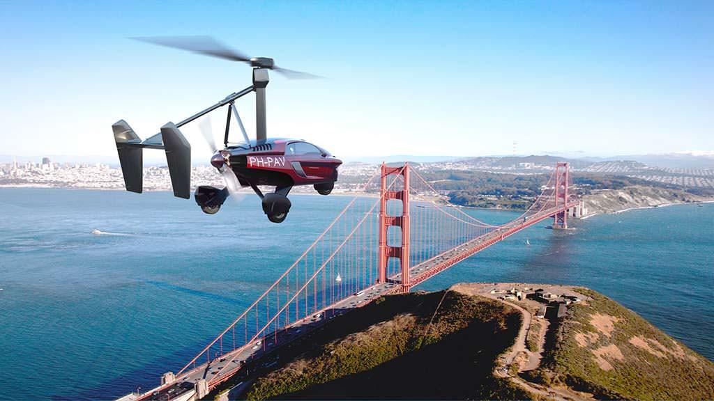 Первый в мире серийный летающий автомобиль PAL-V Liberty