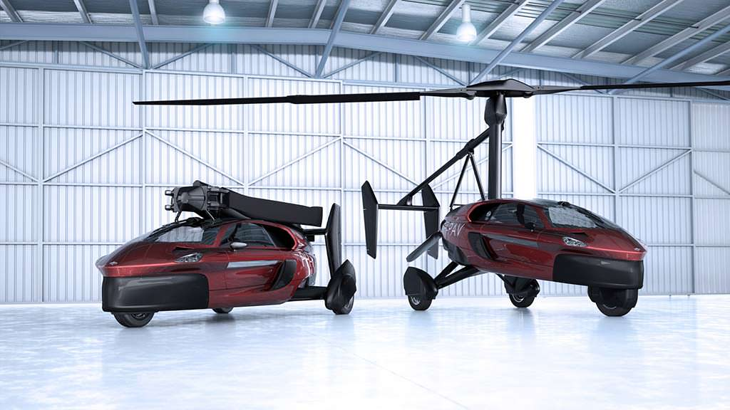 Автомобиль PAL-V Liberty: трансформация в гироплан за 10 минут