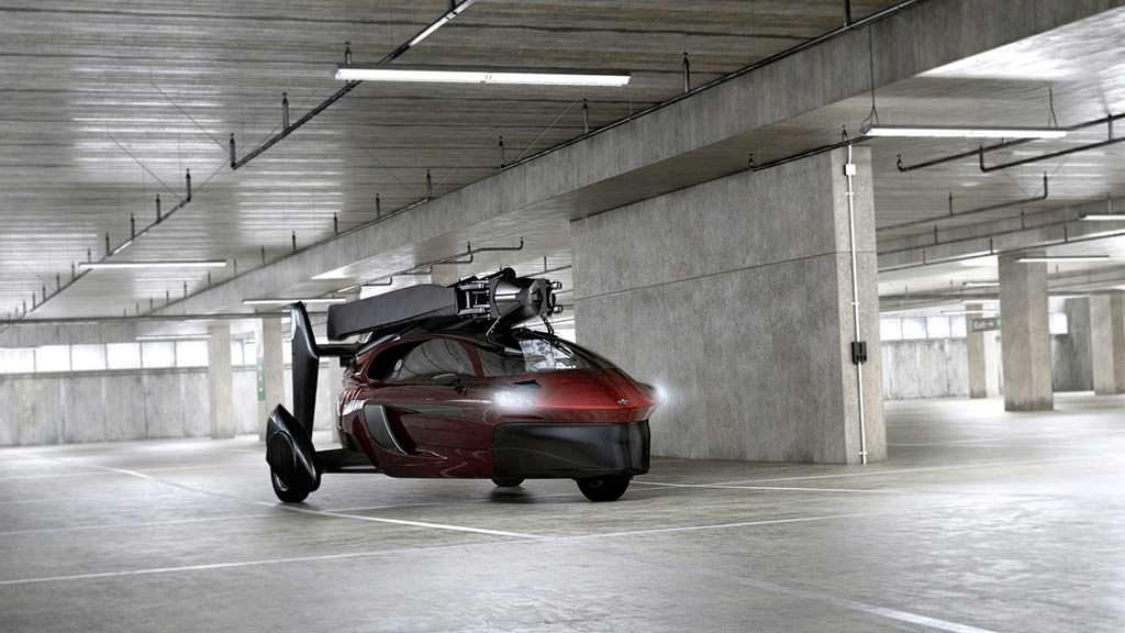 ВЖеневе представят серийный летающий автомобиль