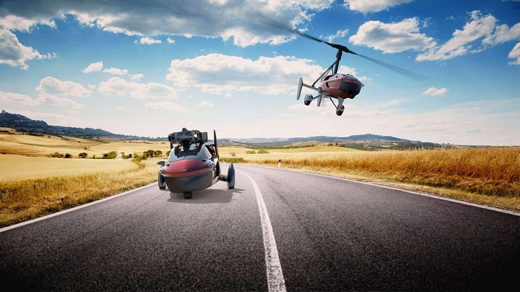 PAL-V Liberty: первый серийный летающий автомобиль