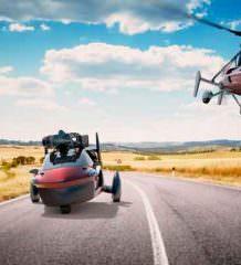 Серийный летающий автомобиль PAL-V Liberty покажут в Женеве