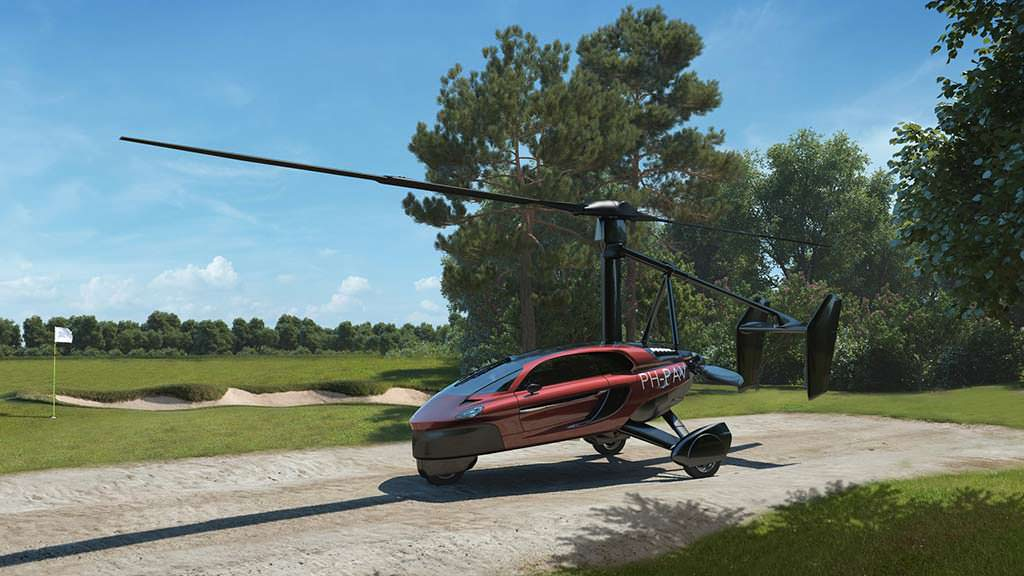 Компактный вертолёт-трансформер PAL-V Liberty