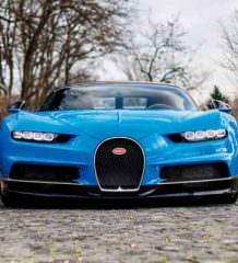 №1 из 500. Подержанный Bugatti Chiron продан дороже нового