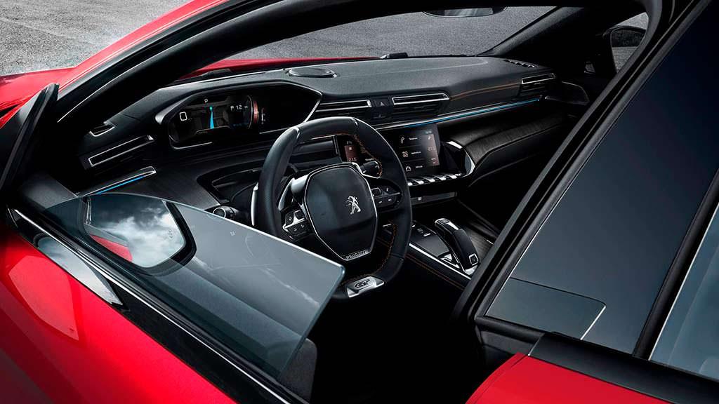 Фото салона Peugeot 508 второго поколения