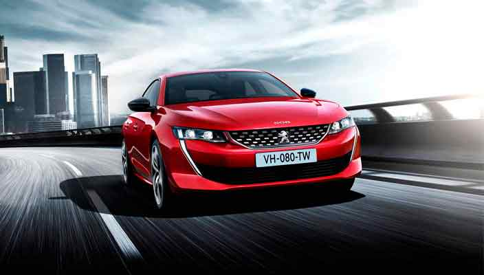 Новый седан Peugeot 508 показали официально | фото